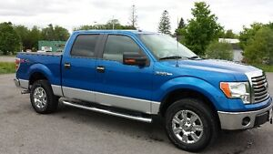 2010 Ford F-150 SuperCrew two tone color Pickup Truck