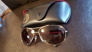 Classic Gold Trim Ray Ban Sunglasses RB3293