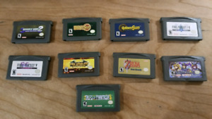 Genuine GBA / Gameboy Advance Games (mostly RPGs)