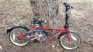Dahon 3 speed folding bike