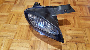 Yamaha R6 Right Headlight (Part: Headlight glass & Reflector)