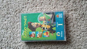 RARE Disney Buddy Songs Volume 1 Cassette
