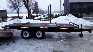 2014 utility flatbed trailer
