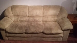 free couch and love seat if you pick them up