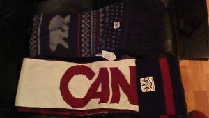 NEW CANADA OLYMPIC SCARVES MADE BY THE HUDSONS BAY COMPANY Stratford Kitchener Area image 1