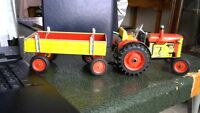 ZETOR TRACTOR AND TRAILER C/W KEY
