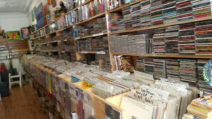 Record store open in Napanee.  Vinyl lps