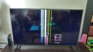 55 inch LG tv 2016 model (broken)