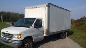 Ford E450 2001 Cube Truck