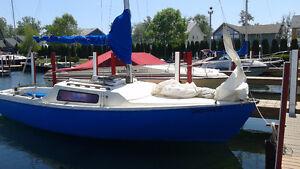 NEW PRICE! 23 ft. Sail Boat