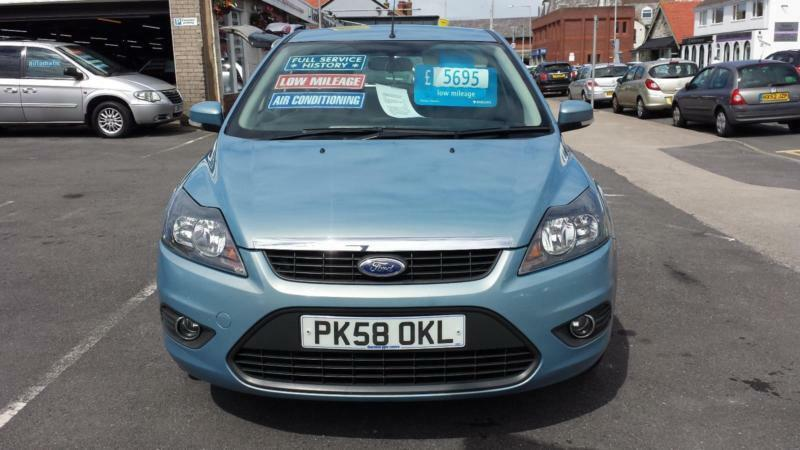 2009 FORD FOCUS 1.8 Zetec 5 Door From GBP4,895 + Retail Package
