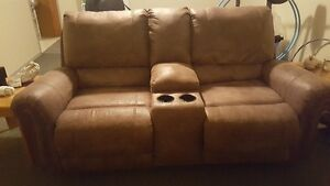Price - Reduced  Recliner love seat w/removable console