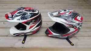 Two GMAX helmets - excellent condition!