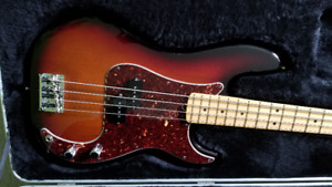 As New 2012 Fender American Standard Precision Bass with OHSC