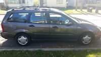 2003 Ford Focus Wagon~low KMs~Incl Winter Tires