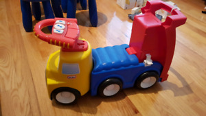 little tikes easy rider (dump truck & scooter)