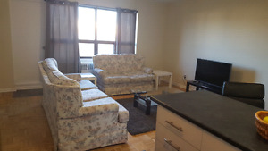 One room to rent in a 2bedroom furnished apartment $550