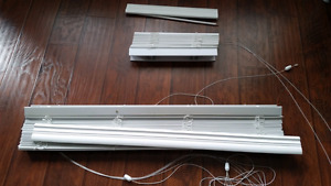 Window Blinds - Faux Wood White