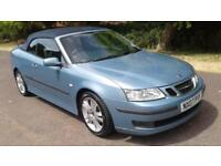 2007 SAAB 9-3 1.9 TID VECTOR ANNVERSARY CONVERTIBLE SAT NAV LEATHER PX SWAPS