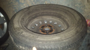 Used tires with rims, 175 65 14