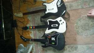 I'm selling guitar hero guitars