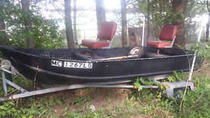 12' Fishing Boat with trailer