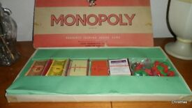 Mousie Mousie, Vintage Monopoly and Vintage Travel Scrabble