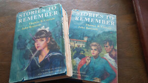 2 Books, Stories to Remember, selected by Thomas Costain