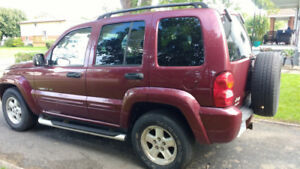 2004 Jeep Liberty Limited 4by4