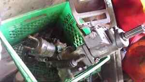Suzuki vinson 500 front diff and rear end and plastic