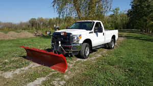 2016 Ford F-250 XL Pickup Truck with 9ft BOSS plow