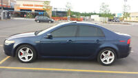 2004 Acura TL, Blue on Grey, Fully Loaded
