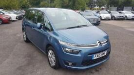 2015 CITROEN C4 GRAND PICASSO BLUEHDI EXCLUSIVE PLUS MPV DIESEL