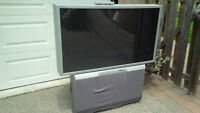 "Free 54"" Rear Projection TV"