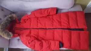 Canada Goose Imitation Jacket- Large-Red