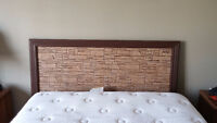 Queen headboard... ($30 TAKES IT - NEED GONE TODAY)