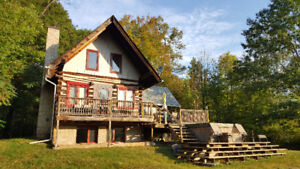 Compass Point Chalet rental Calabogie  available June 18,18