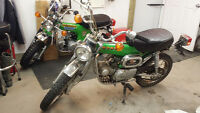 WANTED,HONDA BIKES I AM LOOKING FOR Z50,CT70,ST90 AND S90