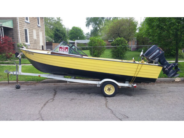 Used 1988 Alumacraft Boat Co mirrow craft
