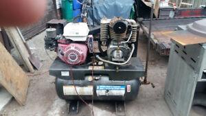 11 hp truck mount air compressor