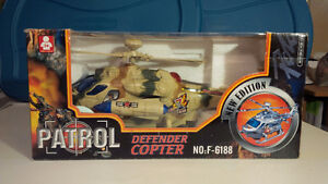 Defender Coptor, toy helicopter  - Brand-New, Unopened