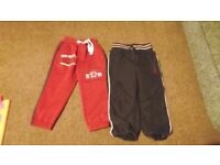 Baby boy 2 pairs of trousers size 92 and 98