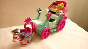 Fisher Price Little People Princess Wedding Carriage