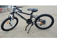 B'twin racing boy bike 20""