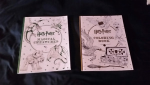 Harry Potter colouting books