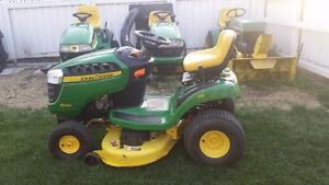 John Deere lawn tractors for sale!