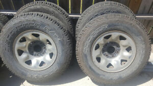 "4 Ford truck 7 bolt 16"" rims"