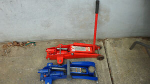 2 Two Ton Floor Jacks $40 for both