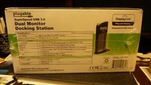 dual monitor docking station dl-3900