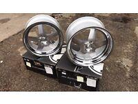 "4 18"" alloy wheels alloys rims Vw Volkswagen transporter t5 t6 BMW 1 2 3 series z3 z4"